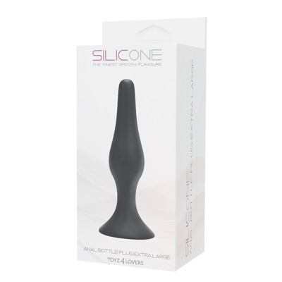 Korek Analny Extra Duży Silicone Anal Bottle Plug XL